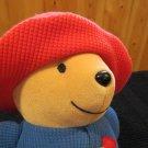 Eden Plush Paddington Bear Thermal Red hat Blue coat