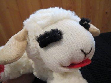 Multi Pet Int L Dog Toy Lamb Chop Plush Stuffed Animal