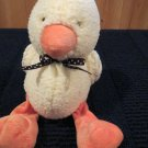Carters Plush Duck colorful dots on wings