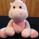 Kellytoy Pink Plush Hippopotamus stuffed Hippo