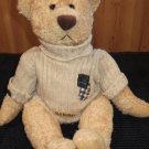 Commonwealth Plush Tan Bear in Sweater with Old Friend