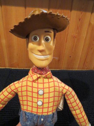 Disney Pixar Talking Woody Doll Toy Story Thinkway Toy