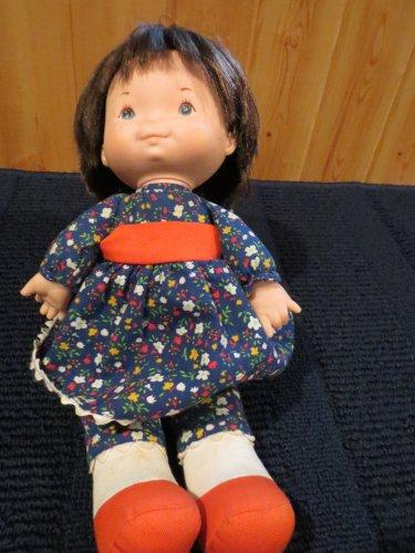 Vintage 1973 Fisher Price Lapsitter Jenny Doll Plush Toy #201