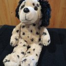 Plush Cream Dog black spots ears by Good Stuff