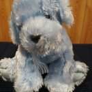 Ty Classic Plush Blue Sparkly Puppy dog named Disco 2003