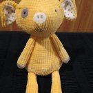 Hallmark Yellow Plush Pig There Fir You Crew 14""