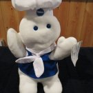 Pillsbury Dough Boy in Apron Scarf Hat Poppin' Fresh giggles