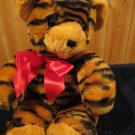 Commonwealth Tiger Striped Teddy Bear Wild About You