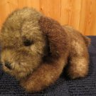 Vintage Plush Brown Puppy Dog named Spencer by America Wego inc