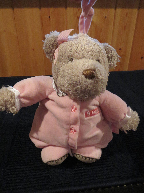 Just one Year Carter's Tan Teddy Bear Musical Crib Toy Brahms Lullabye