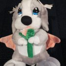 Nanco Plush Sad Sam girl friend Honey with rose and pink wings