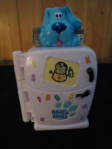 1999 Tyco Blues Clues Refrigerator Talking Learning Preschool Toy