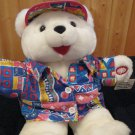 Dan Dee Plush White Hello Teddy Bear Interactive toy DanDee