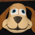 Microbead Plush Puppy Dog Pillow Blue eyes