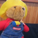Paddington Bear Sold at Sears wears Craftsman apron