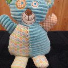 Maison Chic Plush corded Striped blue bear