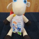 New Dayspring Really Woolly Plush lamb sheep named Doyle with Dvd Backpack Woollys
