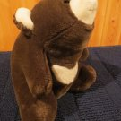 "1980 Gund 12"" Brown White Snuffles Teddy Bear"