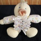 Little White  Duck Musical Crib Toy by Prestige Toy Co Brahms Lullaby