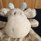 Demdaco Nat & Jules Plush Giraffe Security Blanket Rattle