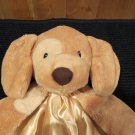 Baby Gund Huggybuddy Tan Puppy Dog Spunky security Blanket 058968