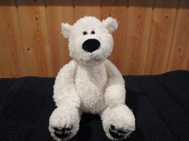 Gund White Polar Bear named Francis  plush Lovey