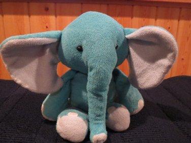 Target Circo Blue Plush Elephant gray accents