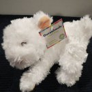 Garanimals  Plush White lamb Brown Bow #86655