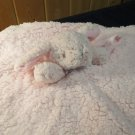 New Blankets & Beyond Pink Bunny Rabbit Security Blanket