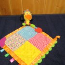 Infantino Giraffe Security Blanket lovey Teether