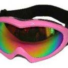 Ski Goggles Pink  Frames Icebird by Birdz Eyewear