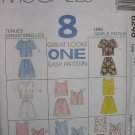 McCalls #8248 Uncut Sz 8-12 Shorts/Tops Sewing Pattern