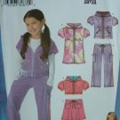 SIMPLICITY #3714 Uncut Sz 3-8  Hannah Montana Outfit Sewing Pattern