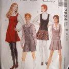 McCalls #7824 Uncut Size 8-12 Semi-fitted Jumper Sewing Pattern