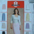 MCCALLS #2634 Uncut Sz 8-12 Semi-fit Skirt Sewing Pattern