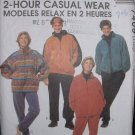 McCalls #7409 Uncut Unisex Sz 42-44  Jacket/Pants Sewing Pattern