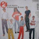 McCalls #9544 Unisex Sz 44-46 Uncut Pants Sewing Pattern