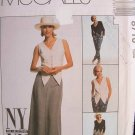 MCCALLS OOP#8710 Uncut Sz 10 Jacket, Vest, Pants & Skirt Sewing Pattern
