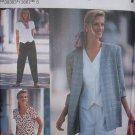 SIMPLICITY #8239 Uncut Sz 6-10 Pants, Shorts, Top w/vest bottom & Jacket Sewing Pattern