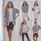 SIMPLICITY OOP#8679 Uncut Sz Lg  Cardigan, Skirt, Top, Pants, Shorts & Skirt Sewing Pattern