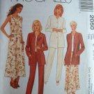 MCCALLS OOP #2050 Uncut Sz 8-12 Jacket, Top, Pants & Skirt Sewing Pattern