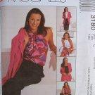 MCCALLS Sewing Pattern #3180 Sz 10-14 Jacket, Top, Pants & Skirt