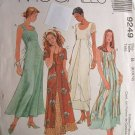 McCalls #9249 Uncut Size 8-12 Dress w/ OverSkirt Sewing Pattern