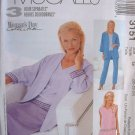 MCCALLS OOP#3151 Uncut Sz 8-12 Jacket. Top. Pants & Skirt Sewing Pattern