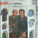 MCCALLS #9638 Uncut Sz Sm-XL Men's Robe Top Pants Sewing Pattern