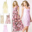 MCCALLS #6508 Uncut Sz 4-12 Dress w/Gathered Skirt & Drape; Create Your Own Sewing Pattern