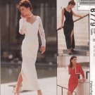 MCCALLS #6779 Sz 10-14 Fit Dress w/Sleeve & Hemline Variations & Lined Bolero Sewing Pattern