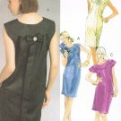 MCCALLS #5751 Uncut Sz 6-14 Laura Ashley Straight Pullover, Above Knee Dress Sewing Pattern