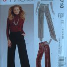MCCALLS #5710 Uncut Sz 14-20 Semi-fit Wide Leg Pants & Sash Sewing Pattern