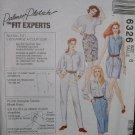 """MCCALLS #6326 Uncut Sz 6 """"Jeans that Fit"""" Shorts, Skirt & Pants Sewing Pattern"""